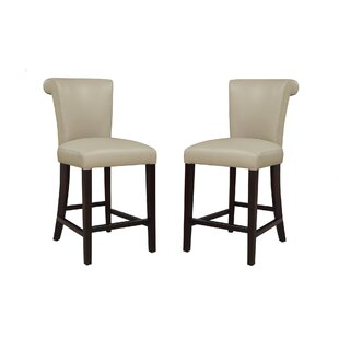 Crabb 24 Bar Stool (Set of 2) Red Barrel Studio