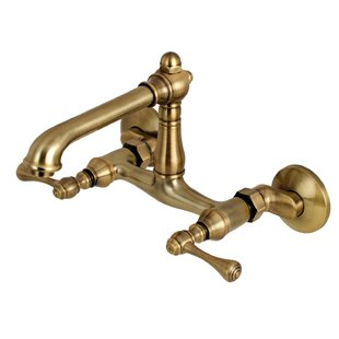 Kingston Brass Adjustable Double Handle Kitchen Faucet