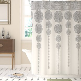 Compare prices Bremond Shower Curtain By Bungalow Rose