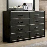 Deshong 8 Drawer Double Dresser by Brayden Studio®