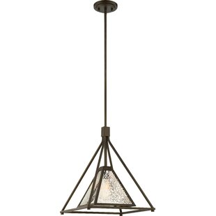 Williston Forge Johnie 1-Light Geometric Pendant