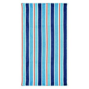 Striped 100% Cotton Oversized Beach Towel