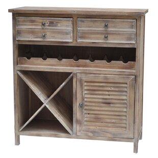 Crestview Collection Jackson 7 Bottle Floor Wine Cabinet