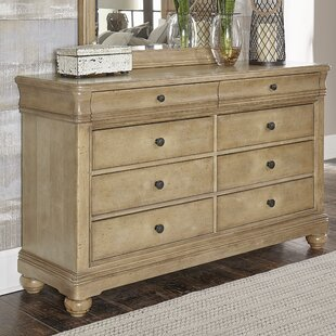 One Allium Way Althoff 8 Drawer Double Dresser