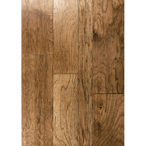 Albero Valley Catalan Random Width Engineered Hickory Hardwood Flooring In  Madrid | Wayfair