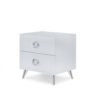 Whitcomb 2 Drawer Nightstand