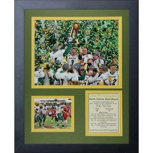 North Dakota State University Bison 2014 FCS National Champions Framed Memorabilia by Legends Never Die