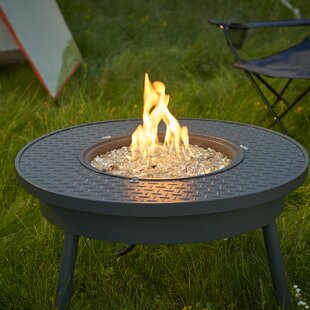 The Outdoor GreatRoom Company Renegade Steel Propane/Natural Gas Fire Pit Table