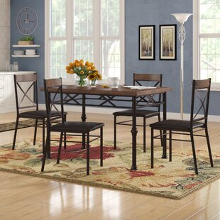 Callimont 5 Piece Dining Set Red Barrel Studio