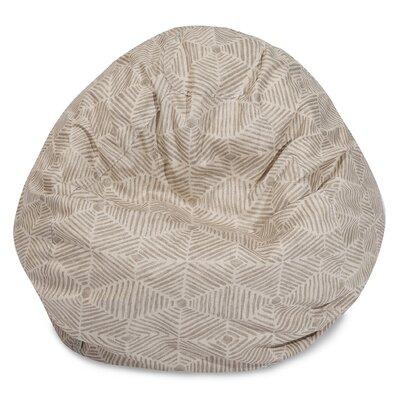 Superb Trule Teen Ashby Bean Bag Chair Upholstery Color Beige Size Machost Co Dining Chair Design Ideas Machostcouk
