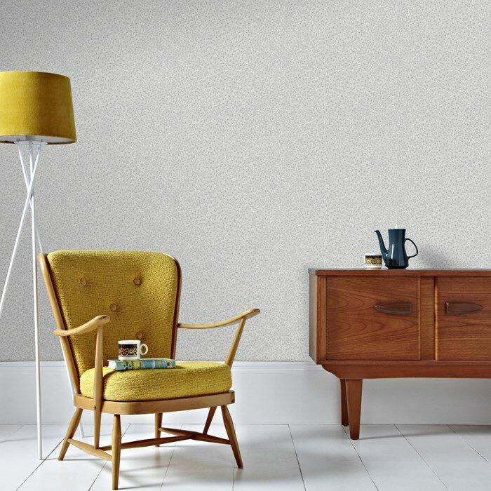 "Graham & Brown Skins 33' x 20"" Ostrich Print 3D Embossed Wallpaper"