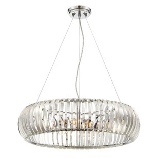 Designers Fountain Allure 4-Light Crystal Chandelier