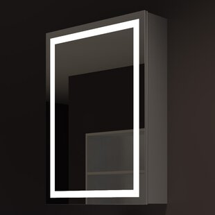 Harmony 24 x 32 Surface Mount Medicine Cabinet with LED Lighting By Paris Mirror