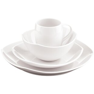 Bon Classic Fjord 16 Piece Dinnerware Set, Service For 4