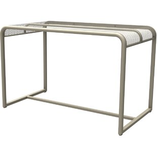 Sargeant Steel Mesh Bistro Table By Sol 72 Outdoor