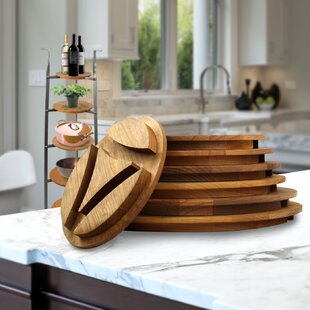 Solid Alder Shelve Freestanding Pot Rack