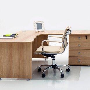 Anti-Microbial Hard Floor Straight Edge Chair Mat By Floortex