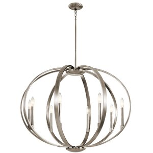 Zachary 8-Light Candle-Style Chandelier