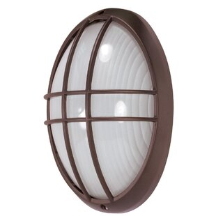 Buying Chante 1-Light Outdoor Bulkhead Light By Williston Forge