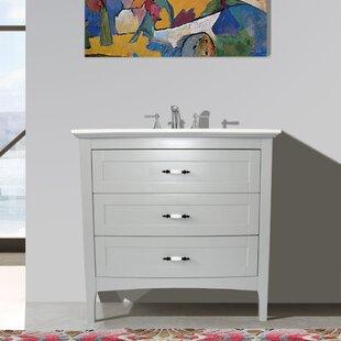 36 Single Sink Bathroom Vanity Set