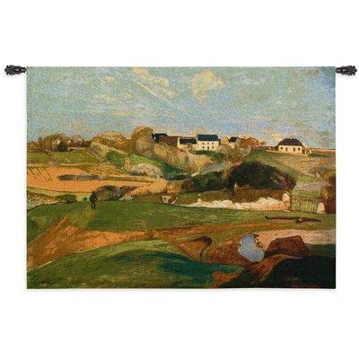 Cityscape, Landscape, Seascape Landscape at Le Pouldu Tapestry Fine Art Tapestries
