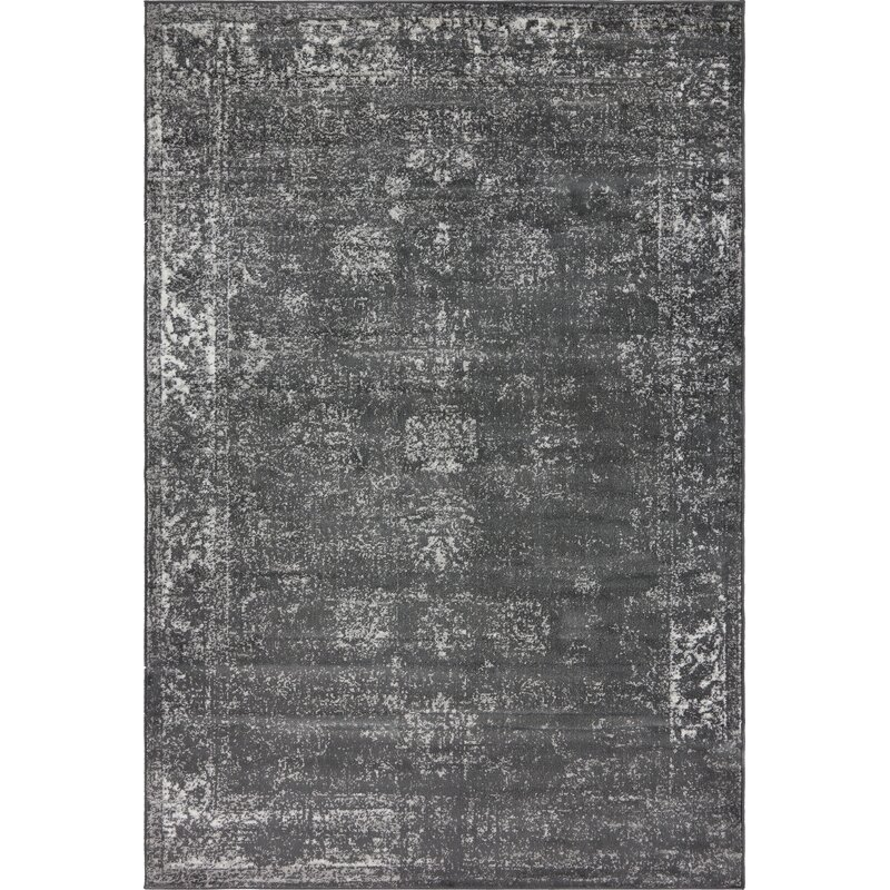 Mistana Brandt Dark Gray Area Rug Amp Reviews Wayfair