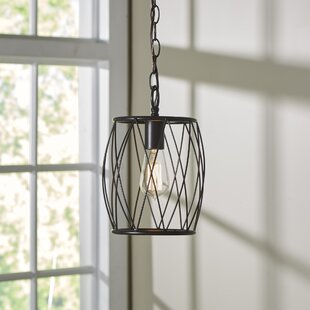 Poynter 1-Light Cylinder Pendant