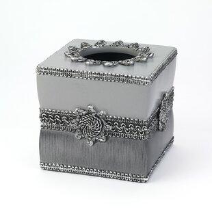 Avanti Linens Braided Medallion Tissue Box Cover