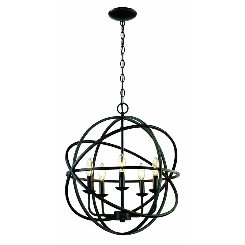 Hankinson 5-Light Chandelier