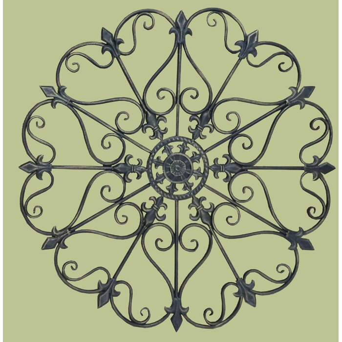 Nice Wrought Iron Wall Decor Inspiration - All About Wallart ...
