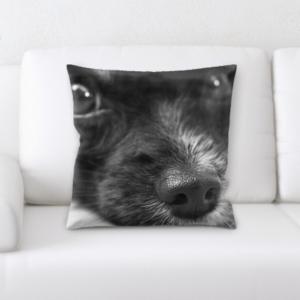 East Urban Home Dog Throw Pillow Wayfair