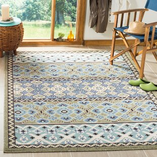 Serrano Green/Blue Indoor/Outdoor Area Rug
