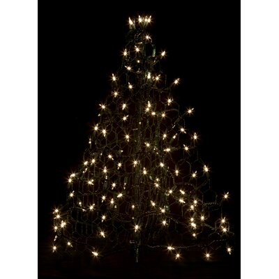 Crab Pot Christmas Trees Crab Pot Christmas Tree® with 100 Incandescent Mini Lights Colour: Clear