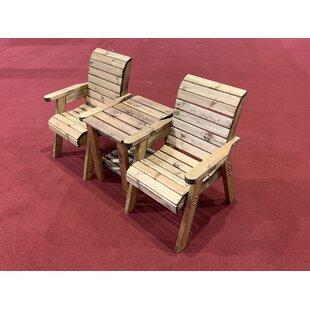 Farrar 2 Seater Conversation Set By Union Rustic
