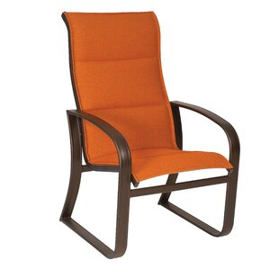 Cayman Isle Sling High-Back Patio Dining Chair