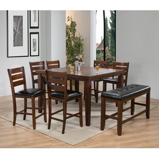 Lowndesboro 8 Piece Pub Table Set