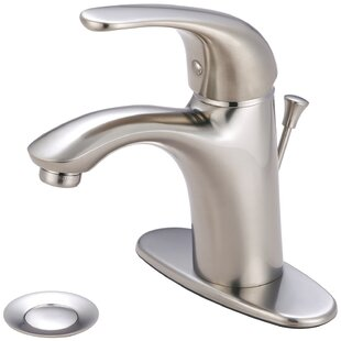 Vellano Single Hole Bathroom Faucet with Drain Assembly By Pioneer