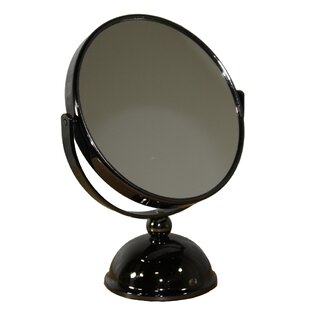 Round X Black Magnify Mirror ByDarby Home Co