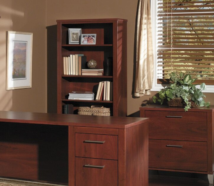 "red barrel studio powder hollow collection 70"" desk home office"