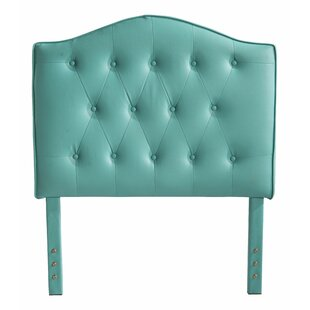 Classic Twin Upholstered Panel Headboard