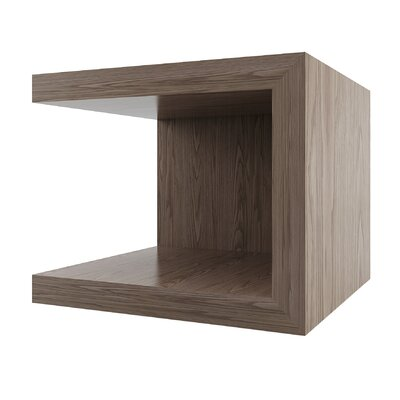 Cleobury Nightstand Color: Walnut by Wade Logan