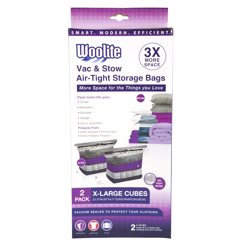 Woolite Vac Stow Air Tight Storage Bags Reviews Wayfair