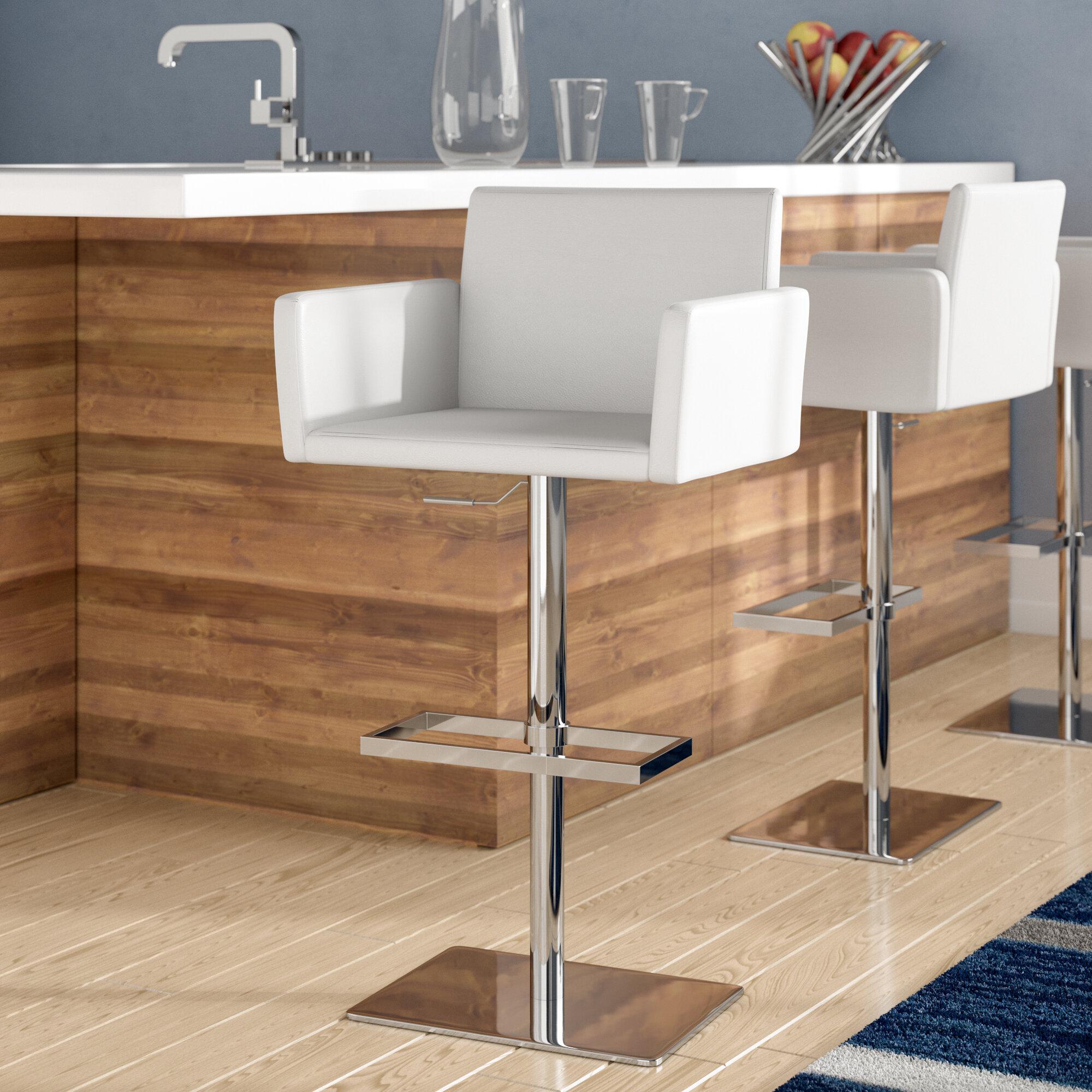 Awe Inspiring Tuller Adjustable Height Swivel Bar Stool Cjindustries Chair Design For Home Cjindustriesco