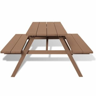 Carrasco Picnic Bench By Sol 72 Outdoor