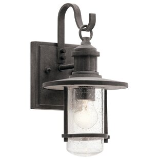 Savings Colombier 1-Light Outdoor Wall Lantern By August Grove