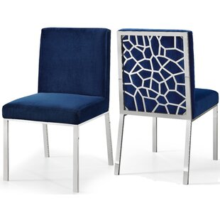 Royal Blue Velvet Dining Chair | Wayfair