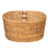 Kana Rattan Tissue Box Cover