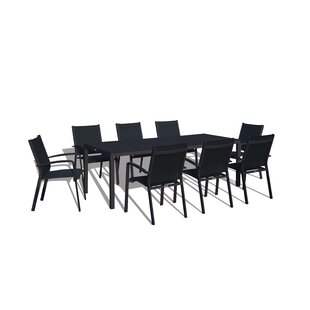 Farid 9 Piece Dining Set