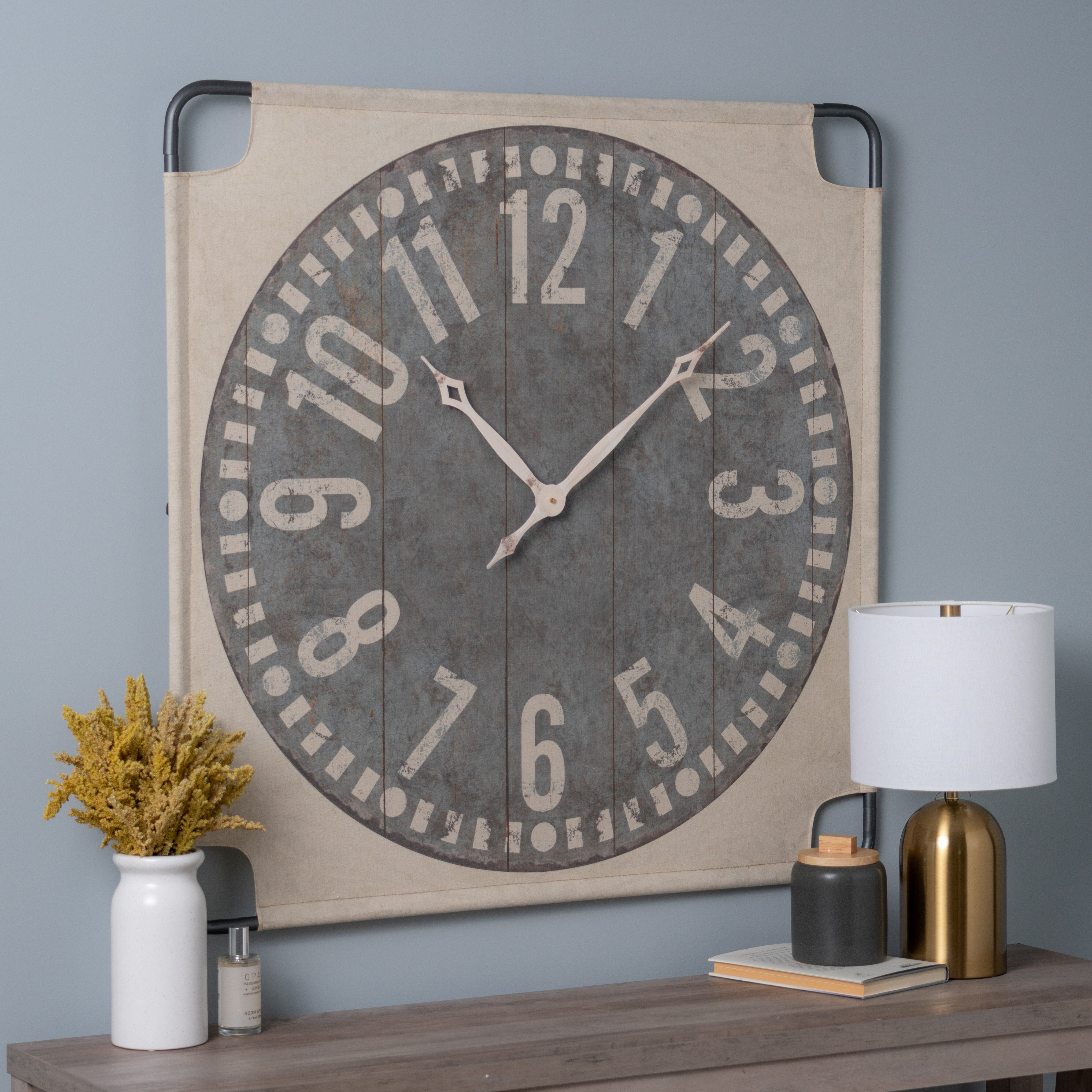 Battery Operated Square Wall Clocks You Ll Love In 2021 Wayfair