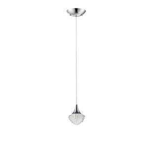 Kendal Lighting Icicle 1-Light Teardrop P..